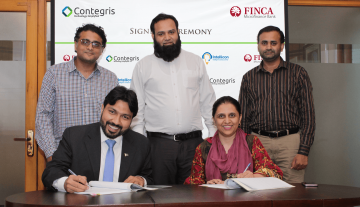 FINCA Microfinance Bank Partners with Contegris to Implement Intellicon Contact Center Suite