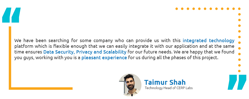 Taimur Shah - CERP Testimonial - Intellicon